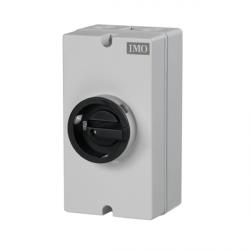 Rotary Actuator Switch - Lockable Off in Plastic Enclosure