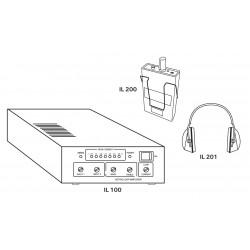 Recepteur de poche à boucle à induction & Casque pour récepteur de boucle à induction IL 200/ IL 201