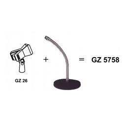 Base de table sur fexible GZ 5758
