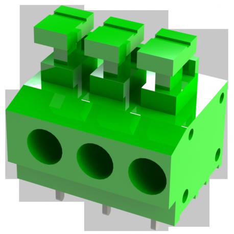 Connecteur PCB 5,00mm TBS-00-197