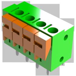 Connecteur  PCB 5,00mm TBS-01-197