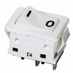 FM - Interrupteur encastrable a bascule - découpe panneau 19x13