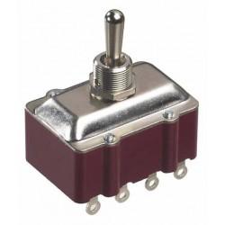660 - Interrupteurs industriels tétrapolaires à levier métallique