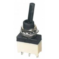 SF - Interrupteurs miniatures lavables à levier - canon fileté isolé