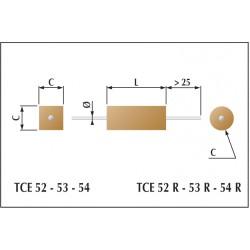 Condensateur céramique moulés classe 1