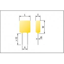 Condensateur céramique fluidisés classe1