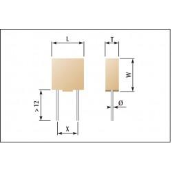 Condensateur céramique autoprotégés classe 1
