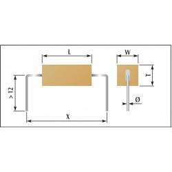 Condensateur céramique classe 1