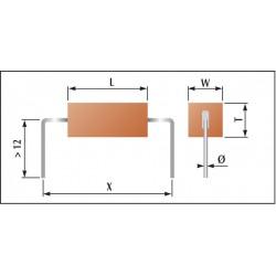 Condensateur céramique classe 2