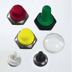 Capuchons d'étanchéité pour interrupteur à levier, à bascule ou poussoir
