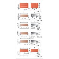 condensateur céramique pour alimentations à découpage haute fréquence classe 2
