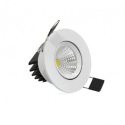 Spot LED Orientable avec Alimentation Electronique 3W 3000°K