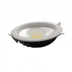 Spot LED Fixe avec Alimentation Electronique 28W 3000°K