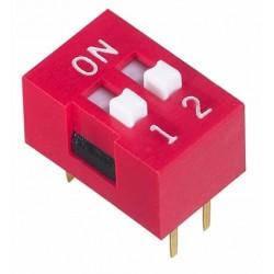 """NDS/DP/DA - Interrupteur DIP standard, """"piano"""" ou verticaux"""