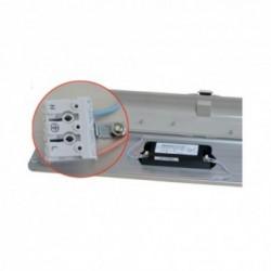 Boitier Etanche LED Intégré 4000°K 48W 1270 x 140 x 92 mm