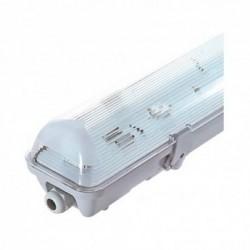 Boitier Etanche LED sans ballast pour 1 Tube T8 de 1500 mm