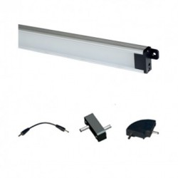 Kit d'extension et Reglette LED 505mm 9W 4000°K