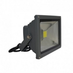 Projecteur Exterieur LED Gris 20W 6000°K