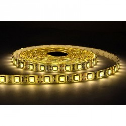 Bandeau LED 5 m 60 LED/m 72W IP65 3000°K