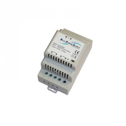 Alimentation Modulaire Rail DIN 230Vac 24Vdc 3 modules