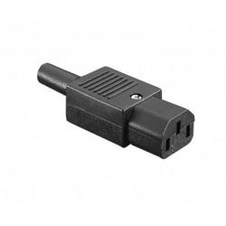 Connecteur IEC Femelle PX0587 Series - EN60 320-1 Standard Sheet C13 Class I