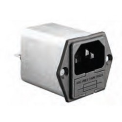 IEC Power Inlet (Single Fused)
