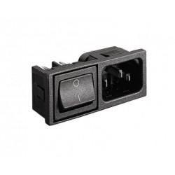 C14 IEC Inlet - Mini Bezel