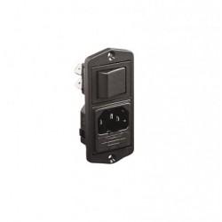 C14 IEC Fused Inlet - Vertical