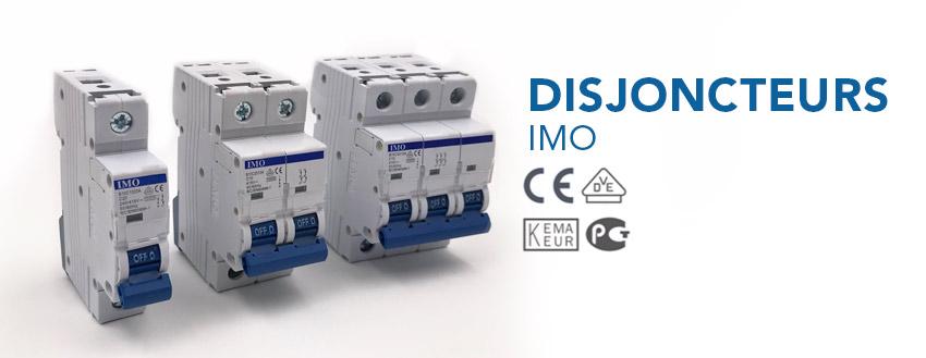 Disjoncteurs IMO