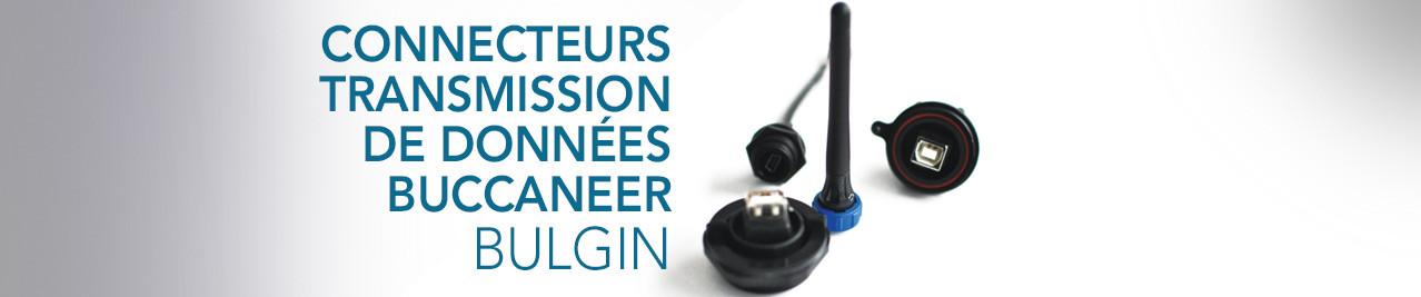 Connecteurs pour transmission de données Buccaneer BULGIN