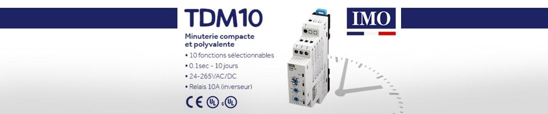 IMO - TDM10  minuterie compacte et polyvalente