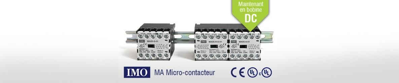 IMO - MA Micro-contacteurn, disponible en bobine