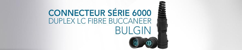 Connecteur Série 6000 Duplex LC Fibre Buccaneer Bulgin