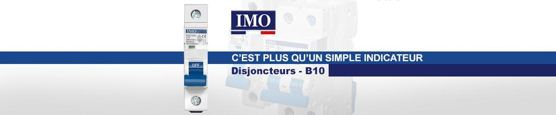Disjoncteur B10 IMO, c'est plus qu'un simple indicateur