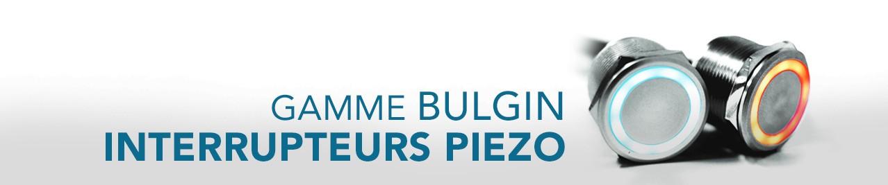 Gamme Interrupteurs Piezo BULGIN