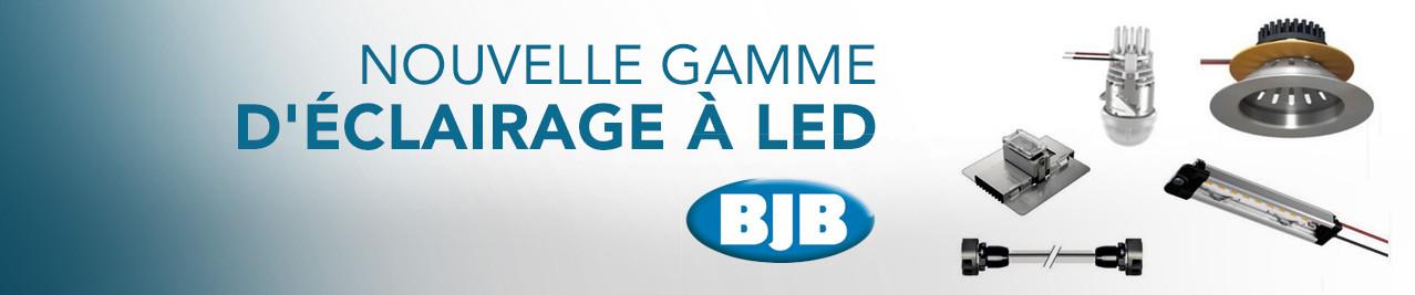 Gamme d'éclairages à LED BJB
