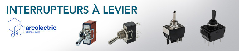 Gamme d'interrupteurs à Levier de ARCOLECTRIC